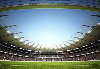 Fototapeta stadion piłkarski górna perspektywa