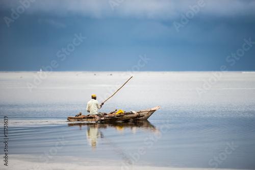 Zanzibar Fisherman boat, Indian Ocean