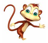 walking  Monkey cartoon character