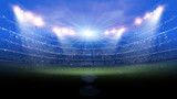 stadium light at night