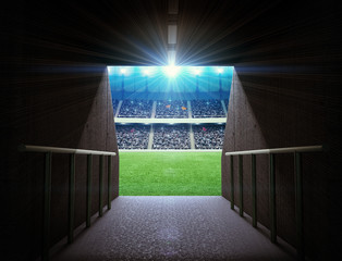 stadium tunnel