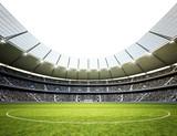 Stadion Neutral Himmel weiß