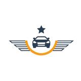 Auto vector logo icon