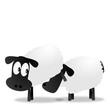 Schafe beim beschnüffeln