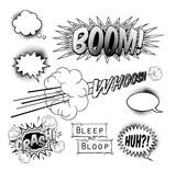 Fototapety Comic Book Design Elements