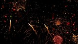 Fireworks. Holiday celebration. Time lapse footage.