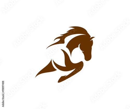Fototapeta Horse logo