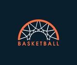 Fototapety Basketball logo