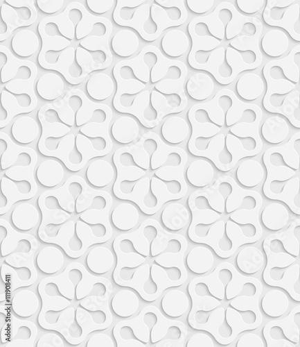 Seamless Snowflake Pattern - 111908411