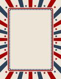Vintage American patriotic background with blank space - 111914680