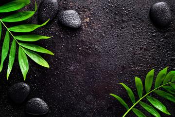 Dark spa background