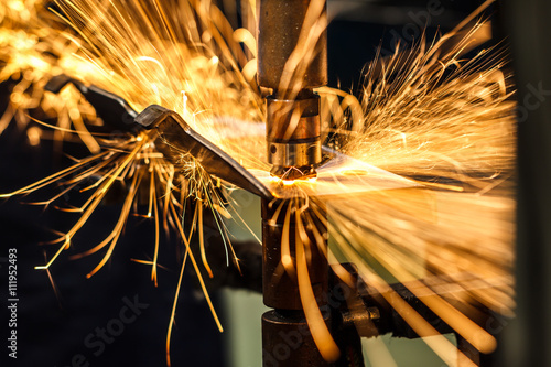 Spot welding Industrial automotive in thailand