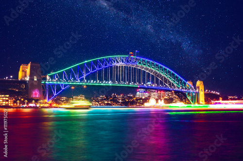 Plexiglas Sydney Sydney Habour Bridge