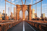 Brooklyn Bridge at sunrise, New York City , Manhattan - 111986642
