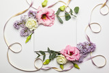 Flowers and invitation card - Fine Art prints