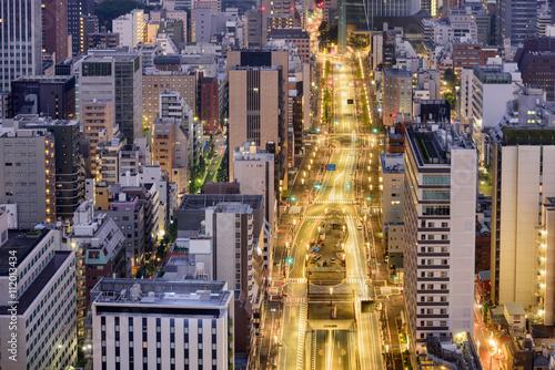 Fototapeta Toranomon Tokyo Japan