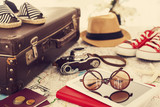 Ready vacation suitcase, holiday concept - 112032262