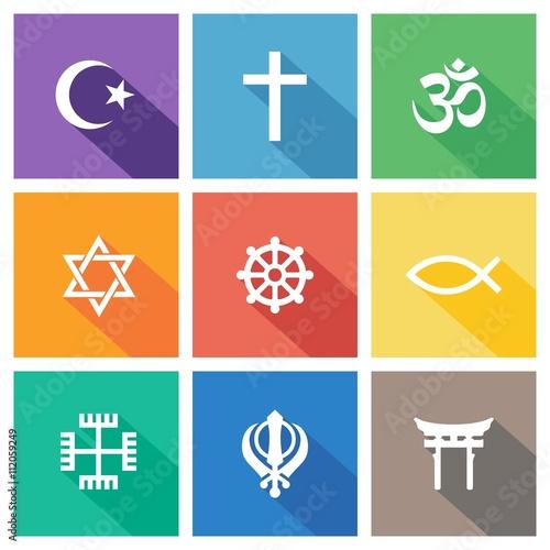 Religiöse Symbole - Sammlung 1