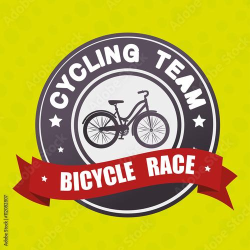 Fototapeta sport cycling design