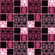 Patchwork seamless pattern lace ornament background