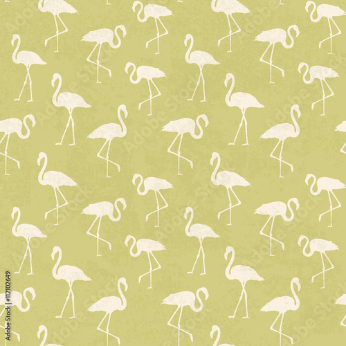 Tropical exotic seamless pattern.