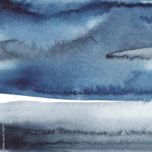 Blue paint background - 112117412