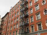 New York City apartment buildings - 112124624