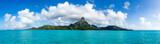 Mont Otemanu des Bora Bora Atolls in Französisch Polynesien - 112153275