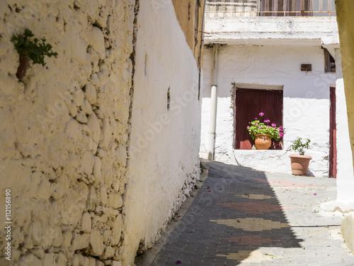 An alley in Fodele