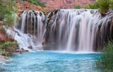 Little Navajo Falls Panorama