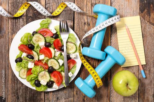 diet food concept © M.studio