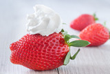 Strawberry And Whipped Cream