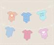 Baby onesie banner