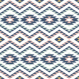 seamless pattern with ethnic ornament - 112193468