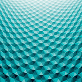 Abstract perspective background with 3d cubes - 112217074
