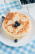������, ������: Buttermilk Pancakes with blueberries