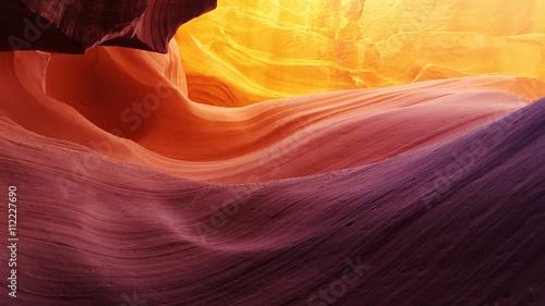Fotobehang Bordeaux Lower Antelope Canyon, Arizona, USA