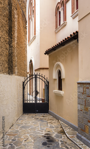 Fototapeta Seiteneingang