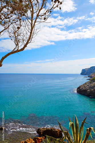 Denia Las rotas beach near Sant Antonio cape Poster