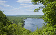 Overlook of the Mississippi River near Guttenberg, Iowa