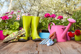 Outdoor gardening tools - Fine Art prints