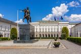 Presidential Palace (Pałac Prezydencki, 1643) in Warsaw, Poland.  - 112299888