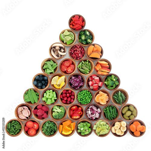 Fototapeta Healthy Superfood Selection