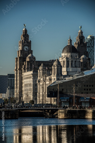 Poster Liverpool Albert Docks