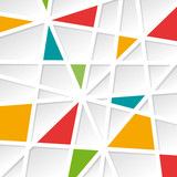 Geometric Abstract colorful Background