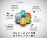 Business infographic.File contains text editable AI and PSD, EPS10,JPEG and free font link.