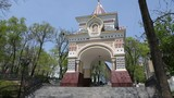 Triumphal Arch Crown Prince Nicholas (Nikolaev Triumphal Arch) was built in 1891 in honor of the visit to Vladivostok Tsesarevich Nicholas - the future of the last emperor of Russia.