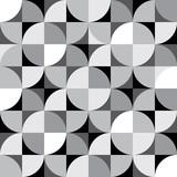 Vector seamless pattern. Decorative paneling pattern. Interior Design wallpaper.