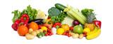Gesundes Gemüse als Panorama Hintergrund © eyetronic