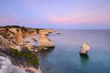Pôr do Sol na Praia da Marinha, Algarve, Portugal